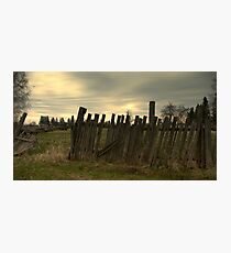 For  Fence Lovers.................... Photographic Print