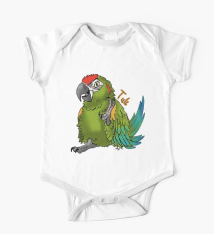 Tuli the Red Fronted Macaw Kids Clothes
