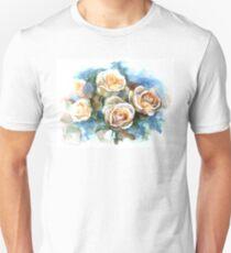 White roses Unisex T-Shirt
