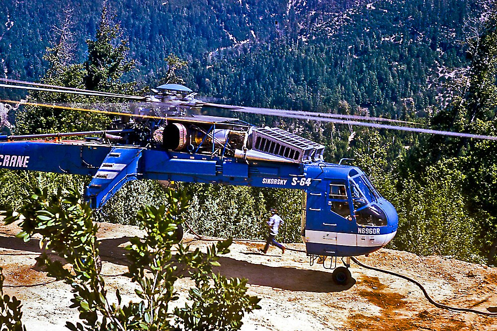 Helicopter Logging 2 by Bryan D. Spellman