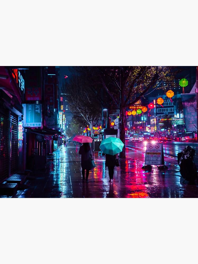 Jongro - Rainy Night by noealz