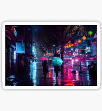 Jongro - Rainy Night Sticker