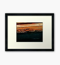Pueblo Downtown Street Abstract Framed Print