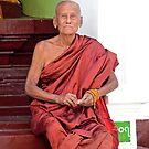 Pagoda Priest by Carl LaCasse