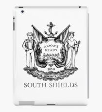 South Shields Coat of Arms II iPad Case/Skin