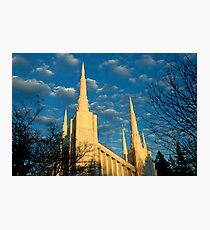 Portland Oregon LDS Temple Photographic Print