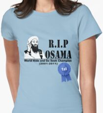 RIP OSAMA Women's Fitted T-Shirt