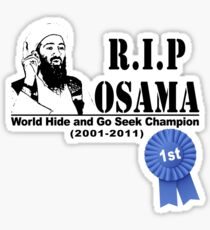 RIP OSAMA Sticker