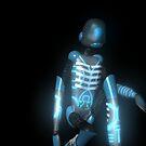 Blue Robot by Vicki Lau
