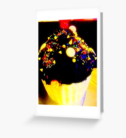 Giant cupcake. Greeting Card