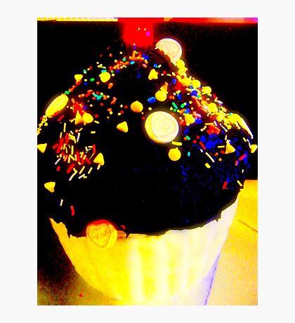 Giant cupcake. Photographic Print