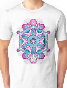 Om-Adjna 'dubstep' mandala Unisex T-Shirt
