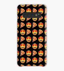 Love Pizza Emoji JoyPixels Funny Pizza Lover Case/Skin for Samsung Galaxy