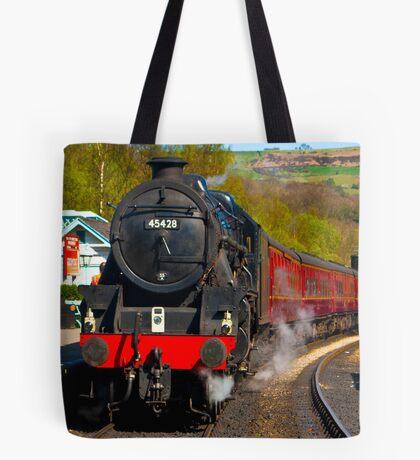 At The Platform - Grosmont Tote Bag