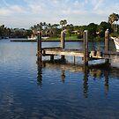 A Tweed Marina Jetty by Graham Mewburn