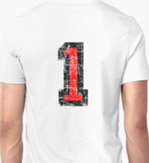Number 1 One First Birthday 1st Design Unisex T-Shirt