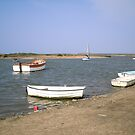 High Water at Burnham Overy Staithe by Ian Lyall