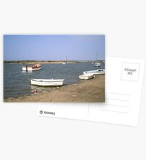 High Water at Burnham Overy Staithe Postcards