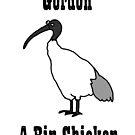 Gordon - A Bin Chicken by firstdog
