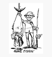 Gone Fishin' Photographic Print