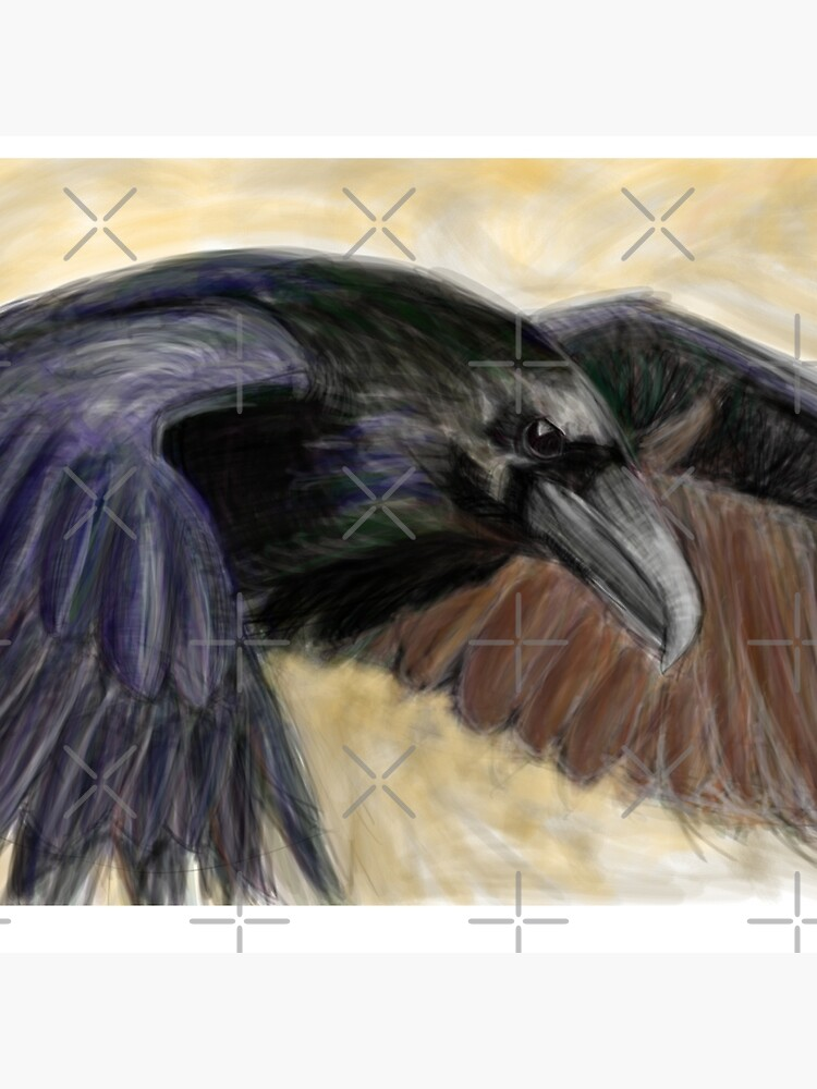 raven by mayerarts