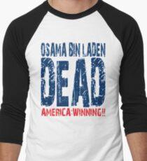 Osama is Dead - Light Men's Baseball ¾ T-Shirt
