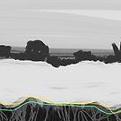 Oilseed Rape Field Abstract by Nigel Silcock