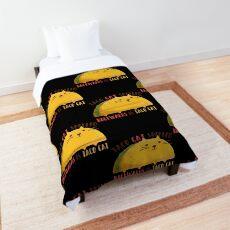 taco cat graphic  Comforter