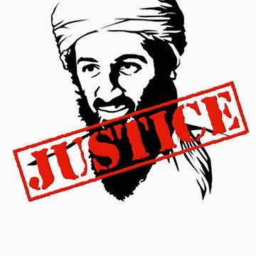 Osama Bin Laden Justice by gleekgirl