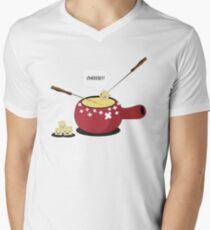 Cheeese !! Men's V-Neck T-Shirt