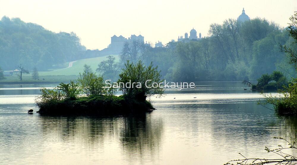 The Mist & The Island ~ Castle Howard by Sandra Cockayne