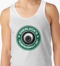 Sherlock's Coffee - Surprisingly OK! Tank Top