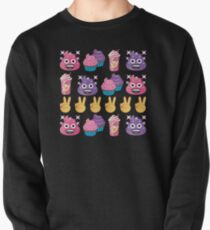 Cute Candy Poo Emoji JoyPixels So Yummy Pullover Sweatshirt