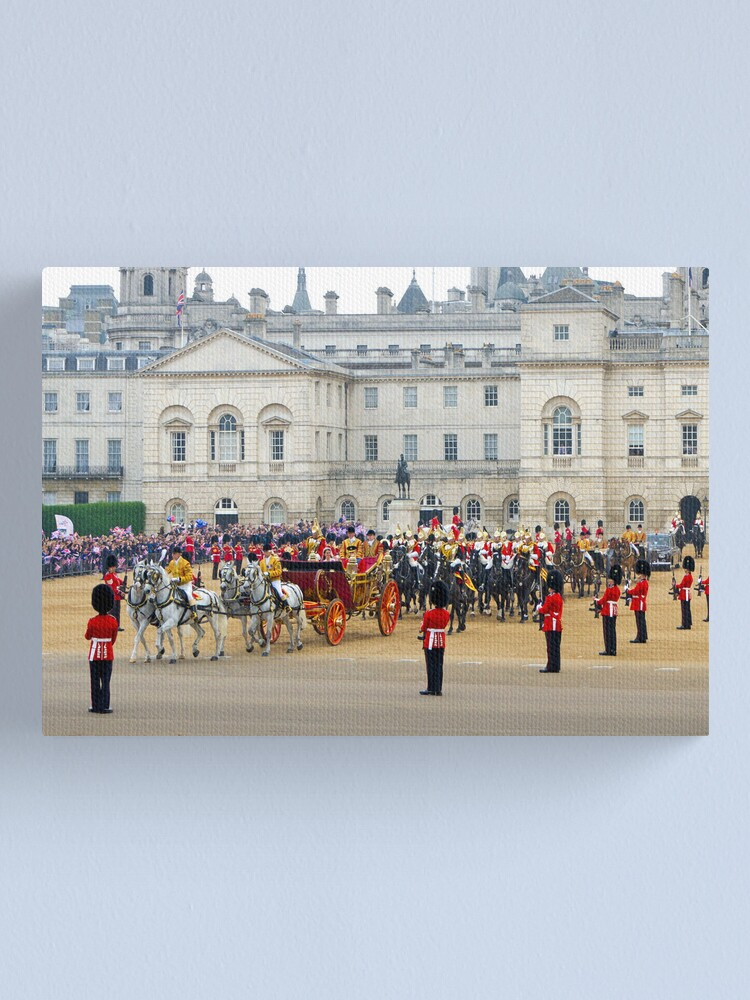 Alternate view of UK, England, London, Horse Guards Parade, Royal Wedding Canvas Print