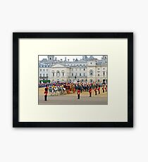 UK, England, London, Horse Guards Parade, Royal Wedding Framed Print