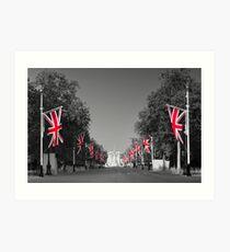 UK, England, London, Buckingham Palace, Royal Wedding Art Print