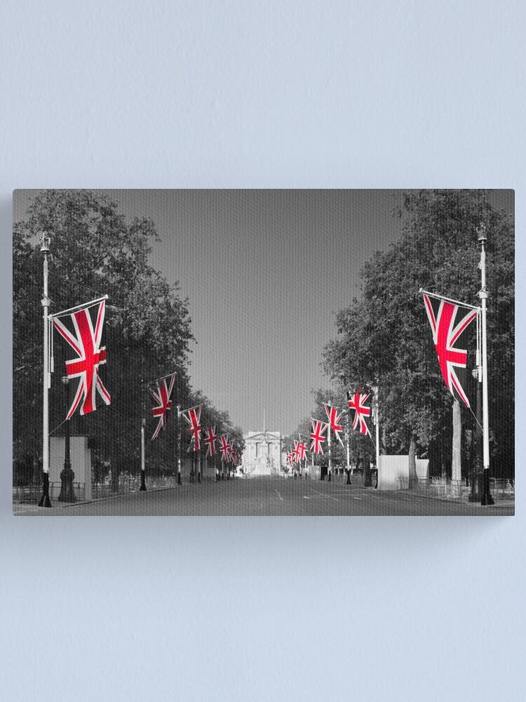 Alternate view of UK, England, London, Buckingham Palace, Royal Wedding Canvas Print