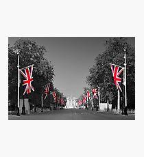 UK, England, London, Buckingham Palace, Royal Wedding Photographic Print