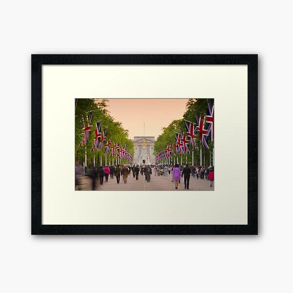 UK, England, London, Buckingham Palace, Royal Wedding Framed Art Print
