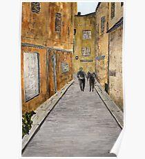 """St. Tropez"" Original acrylic painting Poster"
