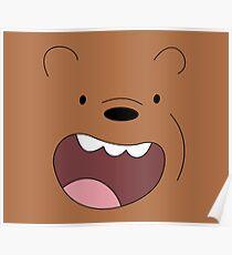 we bare bears Poster