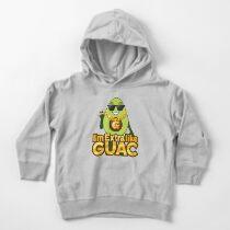 I'm Extra Like Guac Avocado Emoji JoyPixels Cool Avocado saying Toddler Pullover Hoodie