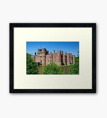 Herstmonceux Castle Framed Print