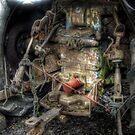 Broken Tractor - Skippool Creek by Victoria limerick