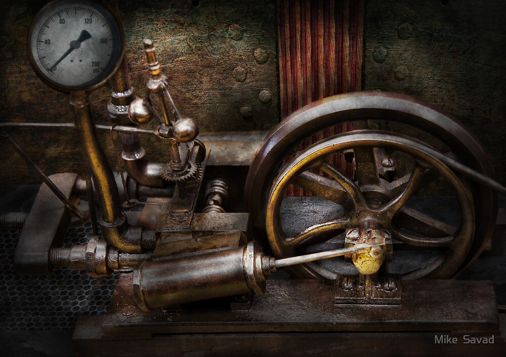 Steampunk - The Contraption by Michael Savad