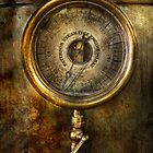 Steampunk - The pressure gauge by Michael Savad