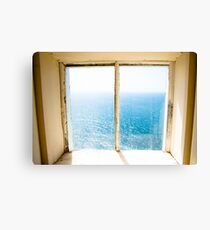 window to the sea Canvas Print