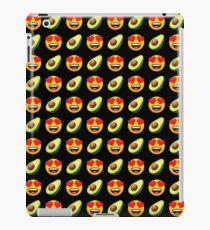 Love Avocado Emoji JoyPixels Funny Avocado Lover iPad Case/Skin