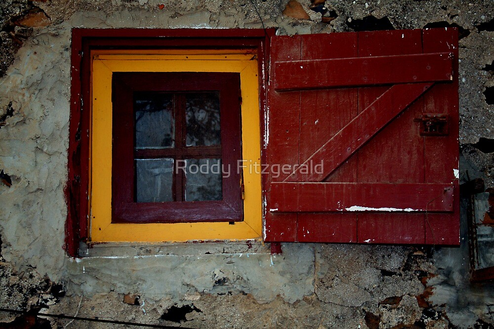 Windows Around The World 1 by Roddy Fitzgerald