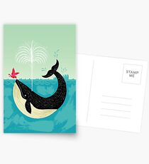 The Bird and The Whale Postcards